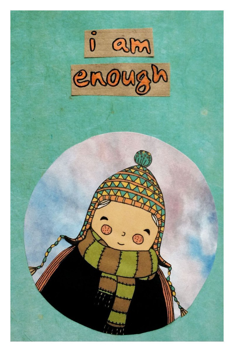 """I am enough""  #selflove    http:// bit.ly/2JTu914    <br>http://pic.twitter.com/zzUbyujYrc"