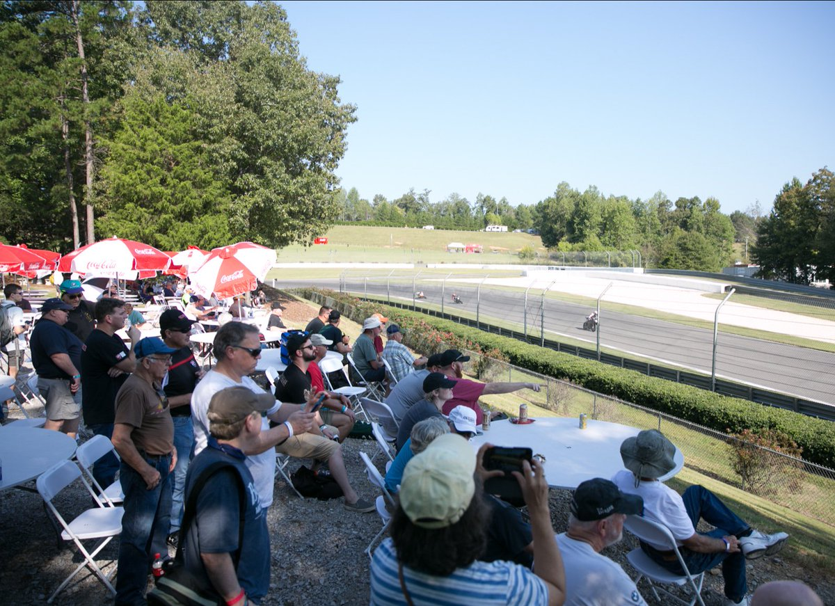 Experience the adrenaline of Turn 17 with the best seats in the house. Upgrade to #AceCorner and overload on all things cafe racer-related during the 15th Annual Barber Vintage Festival presented by @BMWMotorrad! Upgrade your experience today #BVF19 ⇢ cuetoems.com/bvf_2019/Ticke…