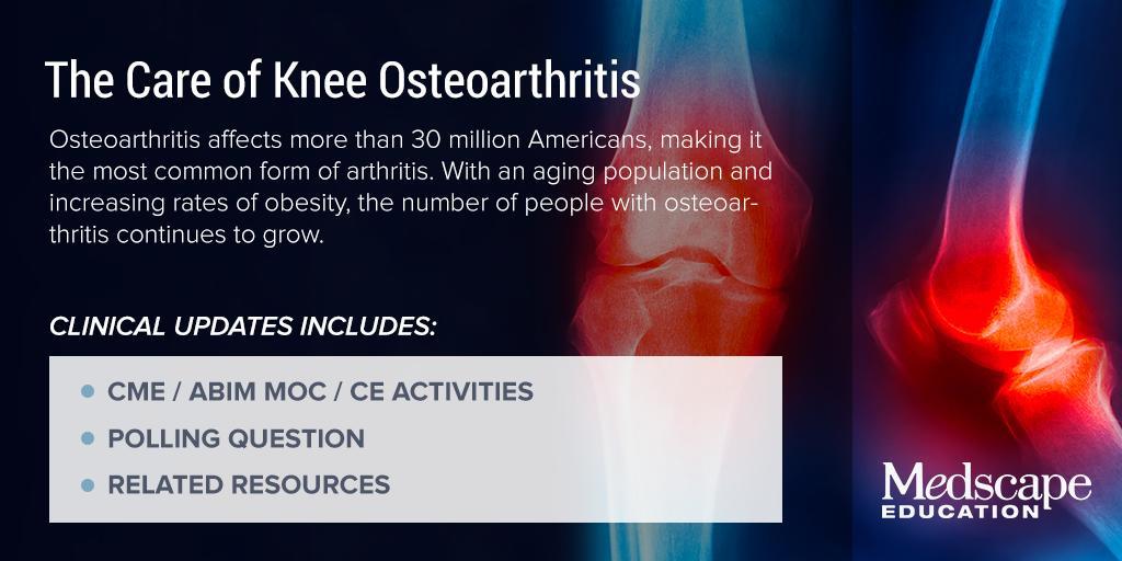 osteoarthritis medscape