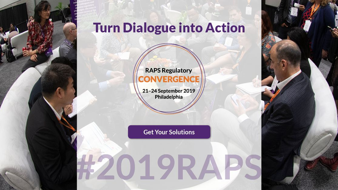 Workshops are selling out! Are you registered for RAPS Convergence? Early-bird pricing ends today, 21 August. https://bit.ly/33Qd1lO #2019RAPS