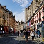 Image for the Tweet beginning: Saying goodbye to Edinburgh, Heading