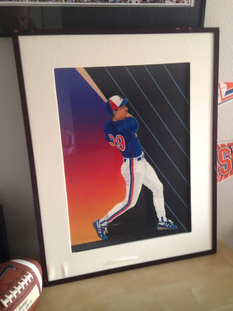 V.Wells original art for '91 @UpperDeckSports I'm more than a little stunned to actually be in possession of this. #Expos<br>http://pic.twitter.com/LWTgCL3oX5