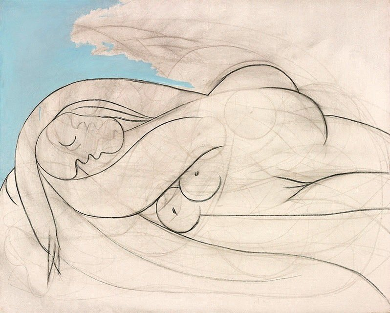 Pablo Picasso   Sleeping Nude   1932 <br>http://pic.twitter.com/IqnntcLrD3