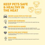 Image for the Tweet beginning: Remember your pets in #LAHeat.