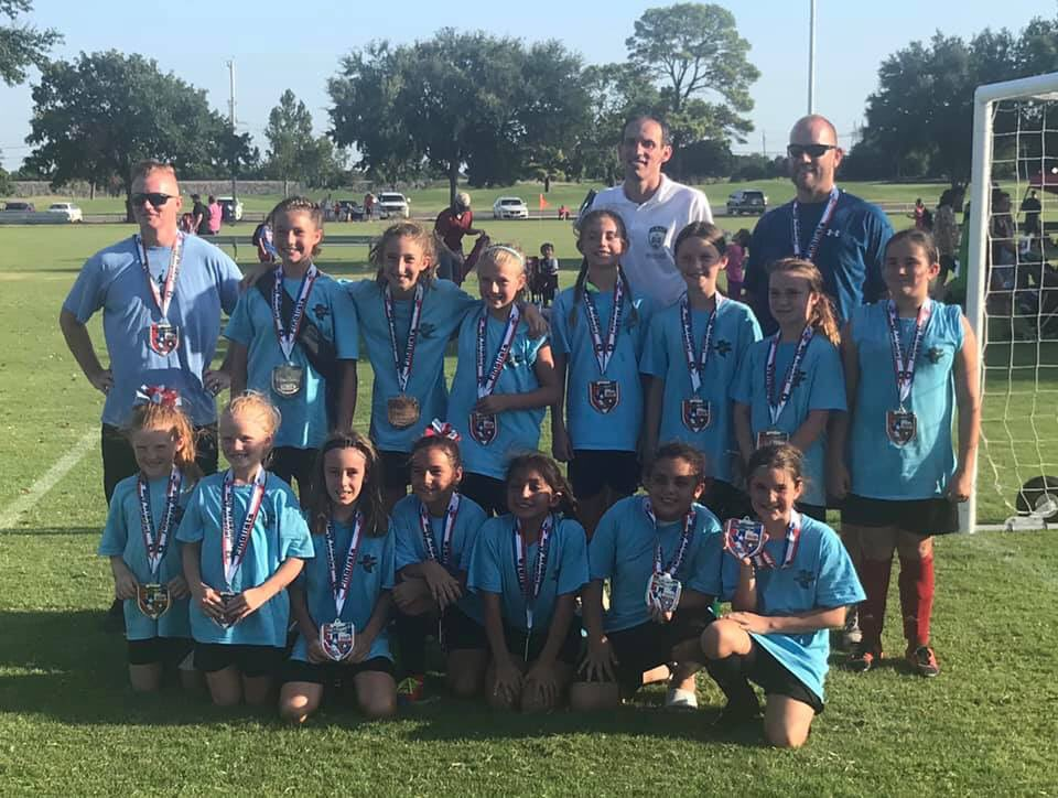 Mikki and the U11 Bandits played great at the Bob Wiseman tournament in Lewisville this past weekend. Made it to the finals but lost out to a U12 team. Little 8 year old Mikki held her own against girls as old as 12 and some almost as big as me! https://t.co/ucwS7V2D1L