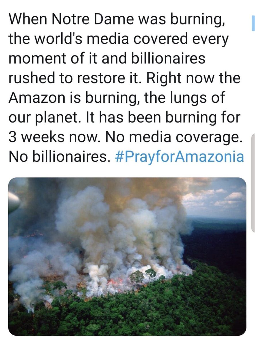 Where is the help now? @Apple @tim_cook @LeoDiCaprio @elonmusk @JeffBezos @WarrenBuffett @BillGates @Total @amazon @WaltDisneyCo @Nike @jpmorgan @Visa @exxonmobil @Walmart @BankofAmerica @Nestle @SamsungUS @intel @Cisco @Mastercard @verizon @CocaCola @pepsi   #PrayforAmazonas<br>http://pic.twitter.com/q1nA4uj1PE