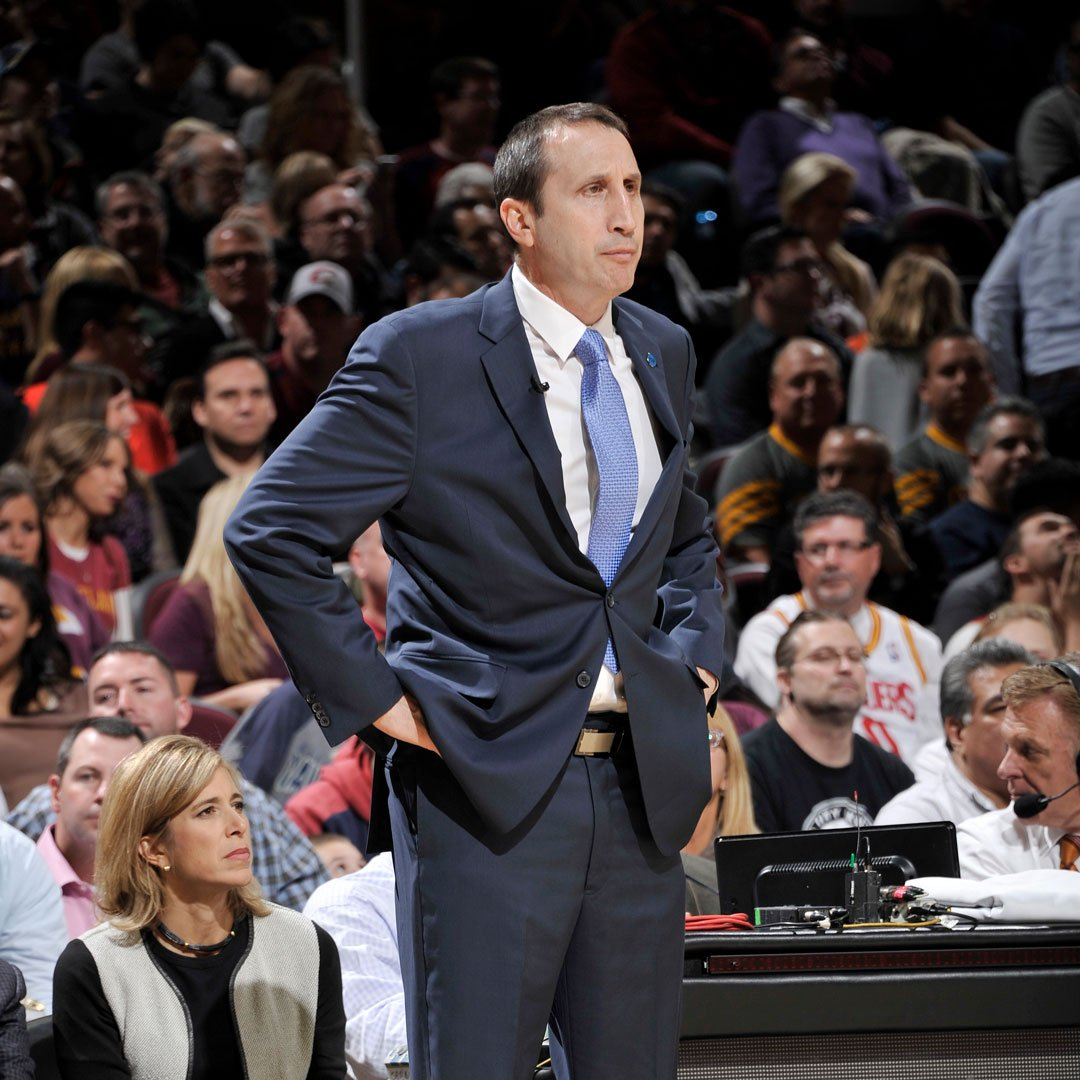 Best wishes to former @cavs Head Coach and current @olympiacosbc Head Coach David Blatt who revealed earlier this week that he has a progressive form of multiple sclerosis. We hope to see you back in action soon Coach Blatt!  Click here to read more: http://ow.ly/iPqK50vF1sz