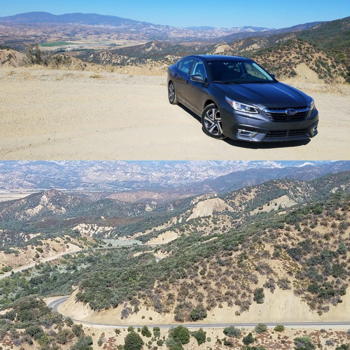 Mountain carving: Cal-33 Los Padres Nat Park in AWD 260hp @Subaru Legacy XT. CA @DetroitNews