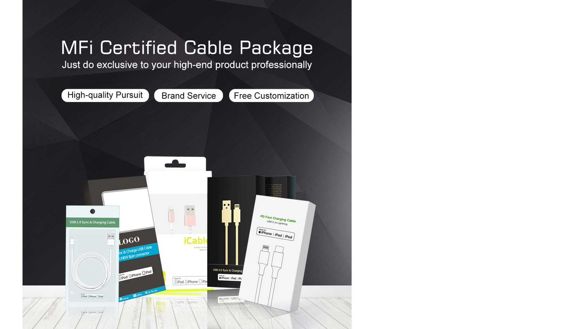 MFI Certificated Cable Package Accept customized service  Do you want to have a package with your own brand or logo? We can do it for you free:) JUST Contact Jennifer+8613428910332  #elekworldjennifer #Ecooper #MFIcable #MFIdatacable #MFIUSB #MFItypeC #TypeC #lighntingpic.twitter.com/Ld6j8tzp0n