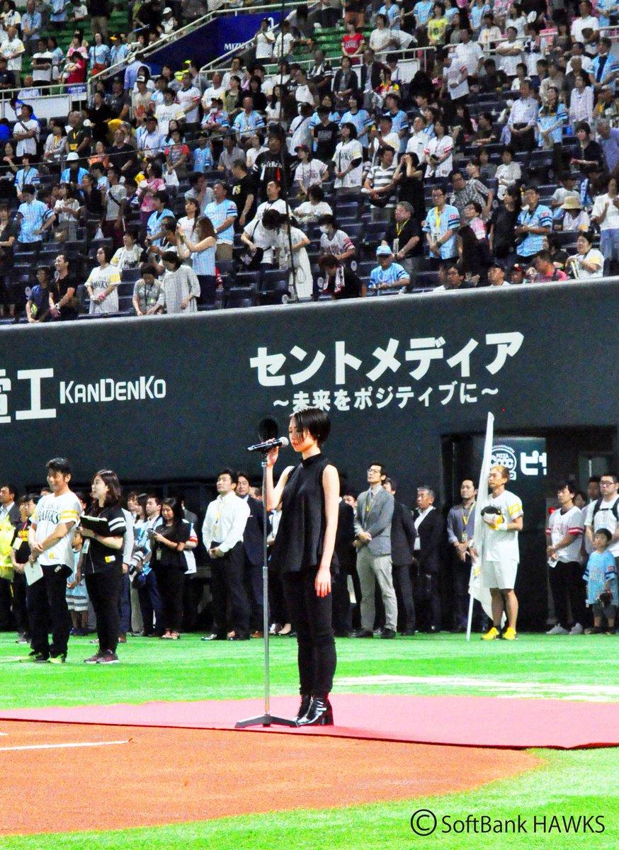 立花綾香、福岡ヤフオクドーム国歌独唱後にメジャーデビューアルバムリリースを発表。