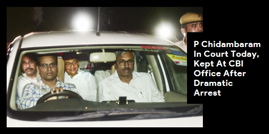 Lead story now on http://ndtv.comSources say, #PChidambaram's questioning will start today, and later in the day, the CBI will take him to court and seek maximum custody - 14 days - for interrogation.Read here http://ndtv.com/india-news/p-chidambaram-inx-media-case-congress-leader-in-court-today-kept-at-cbi-office-after-dramatic-arrest-2088613…#NDTVLeadStory#INXMediaCase