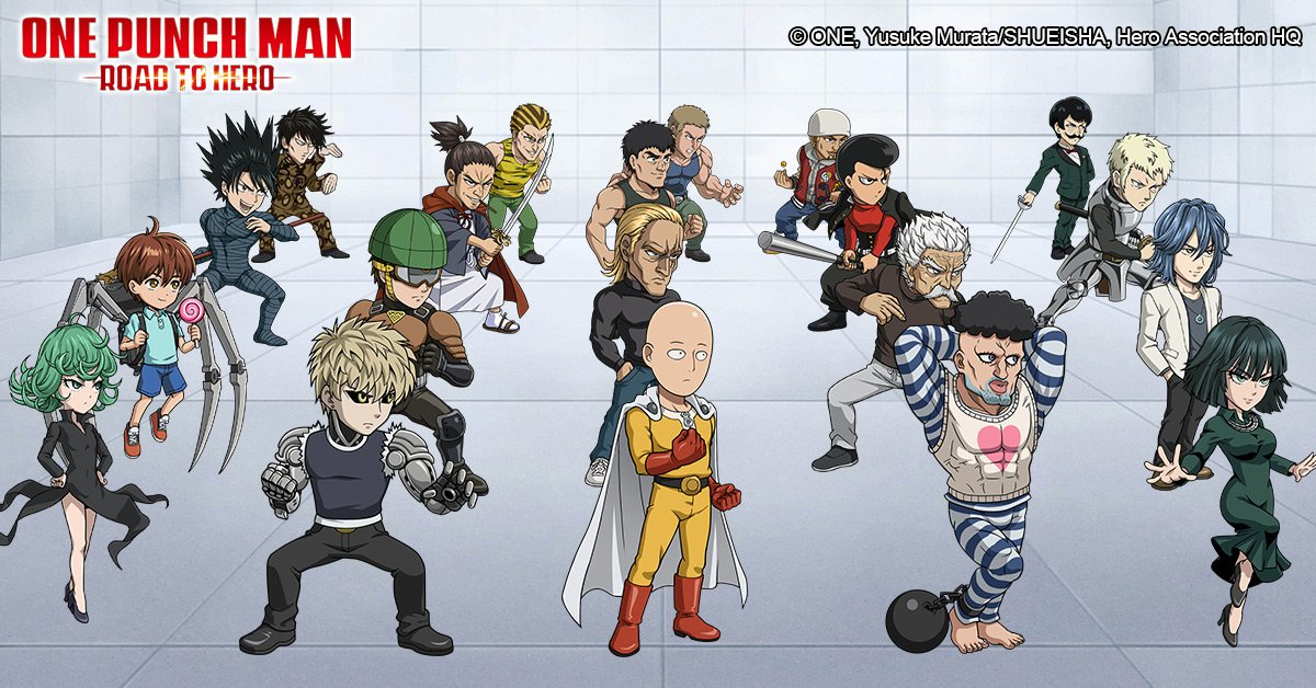 One-Punch Man: Road to Hero (@GameOnepunchman) | Twitter