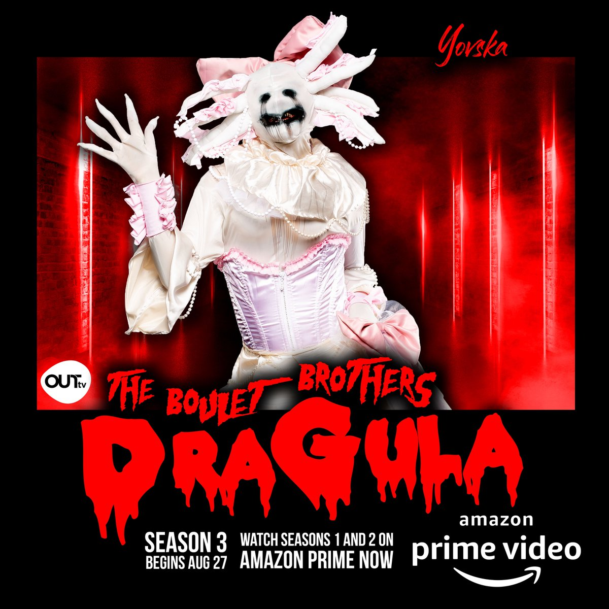 AUG 27! @bouletbrothers @bouletbrothersdragula #dragula3 #bouletbrothersdragula #bouletbrothers #horror #horrortv  #dragula #horrorgram #dragqueen #dragking #dragartist #dragmakeup #dragmonster (The Boulet Brothers Dragula is produced in association with @outtv)<br>http://pic.twitter.com/JWsMLYUBmT