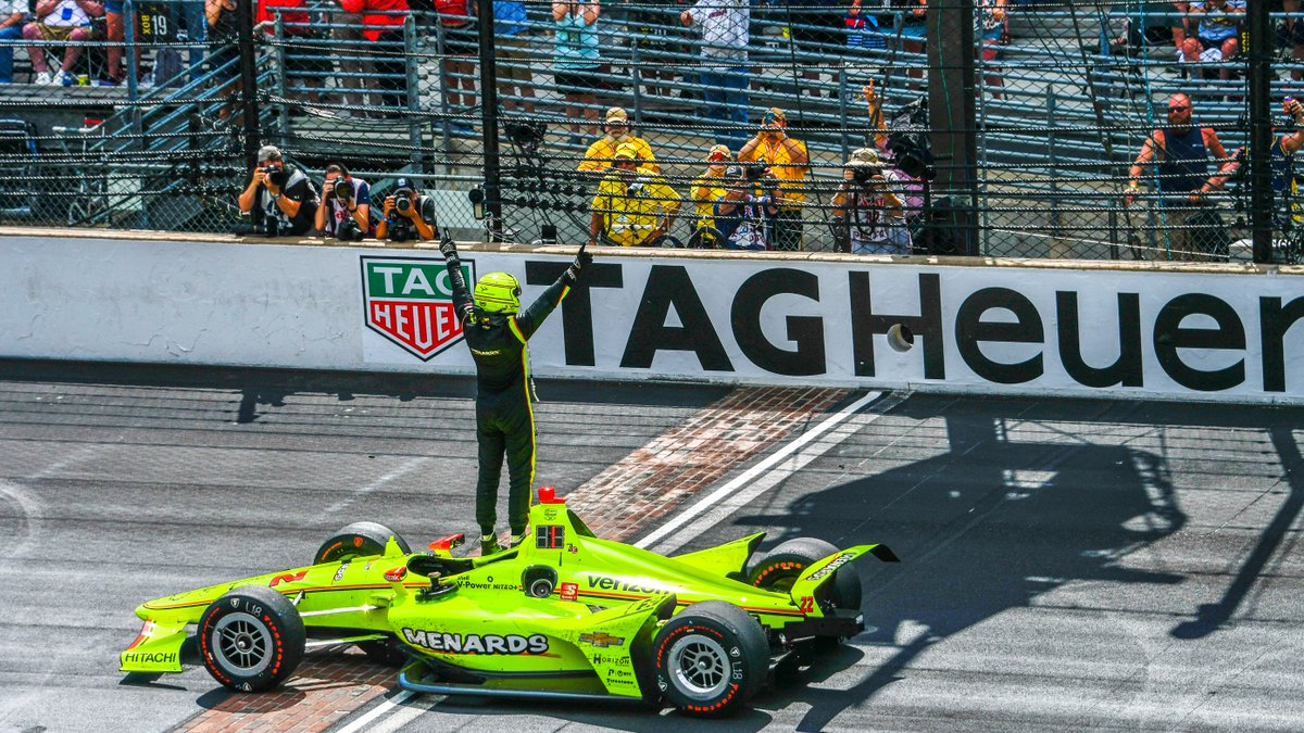 Hey, @simonpagenaud... can we get an encore? 🙇♂️👌 Get front-row seats for the 104th Running when you apply for your tickets TODAY. APPLY>> IMS.com/Apply #IsItMayYet | #Indy500