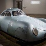 Image for the Tweet beginning: A Rare Nazi-Era Porsche Went