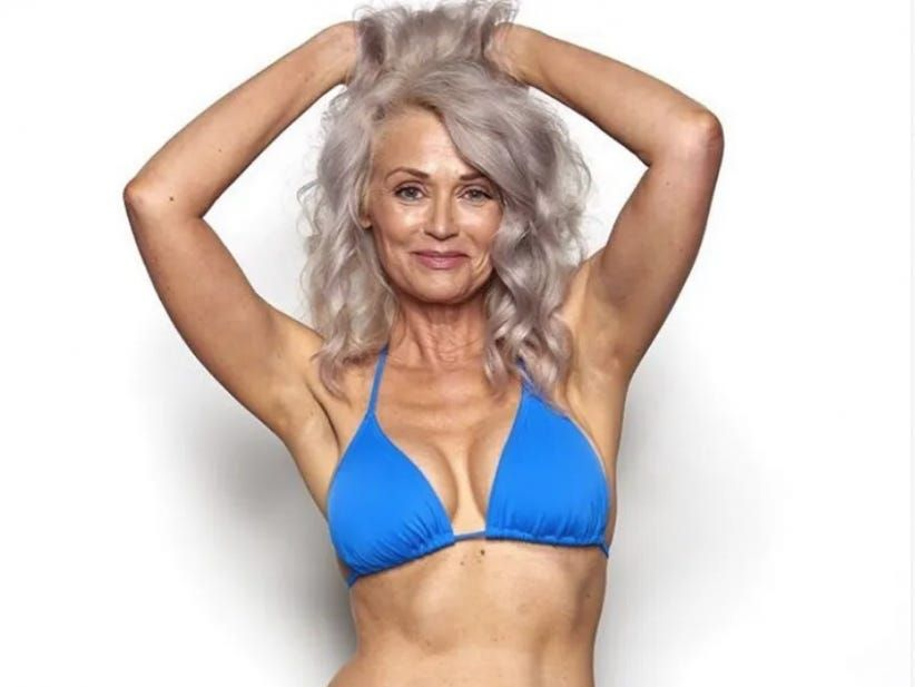 fifty old sexy woman year