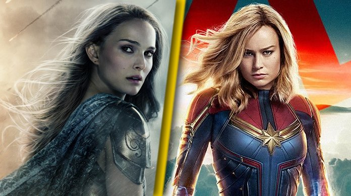 #Thor  Love and Thunder star Natalie Portman has the perfect response to #CaptainMarvel star Brie Larson wielding Mjolnir  https:// comicbook.com/marvel/2019/08 /22/thor-love-and-thunder-star-natalie-portman-perfect-response-brie-larson-mjolnir-captain-marvel/   … <br>http://pic.twitter.com/uxXoP7d4jE