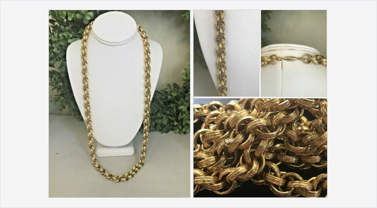 Vintage Heavy Gold Tone Embossed Prince Of Whales Link Chain Necklace | eBay #vintagenecklace #princeofwhales   http:// rover.ebay.com/rover/1/711-53 200-19255-0/1?ff3=4&pub=5575282018&toolid=10001&campid=5338064415&customid=&mpre=https%3A%2F%2Fwww.ebay.com%2Fitm%2F123879126370  …  (Tweeted via  http:// PromotePictures.com    )<br>http://pic.twitter.com/MDcWbiVVYs