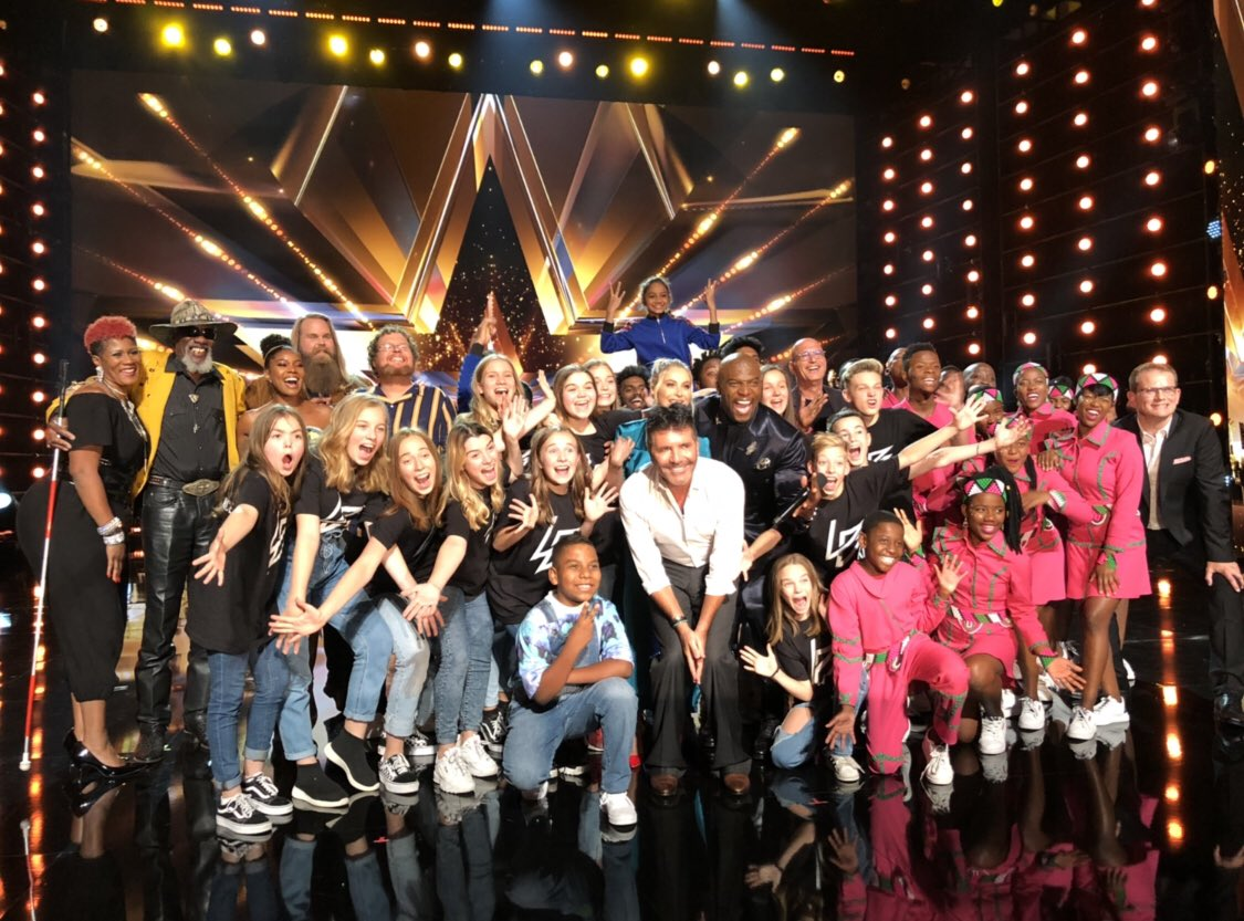 You're looking at the Semifinalists!!! #agt