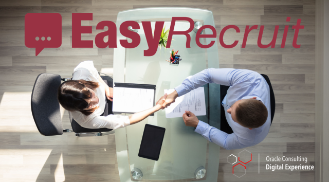 Introducing a Digital Assistant to your recruitment process could improve your chances of hiring the best person for the job. How? With EasyRecruit. #digitalassistant #ocdx #ai #recruitment #oracleconsulting  http:// bit.ly/2MxhbKc     <br>http://pic.twitter.com/yCTXXsfbTL