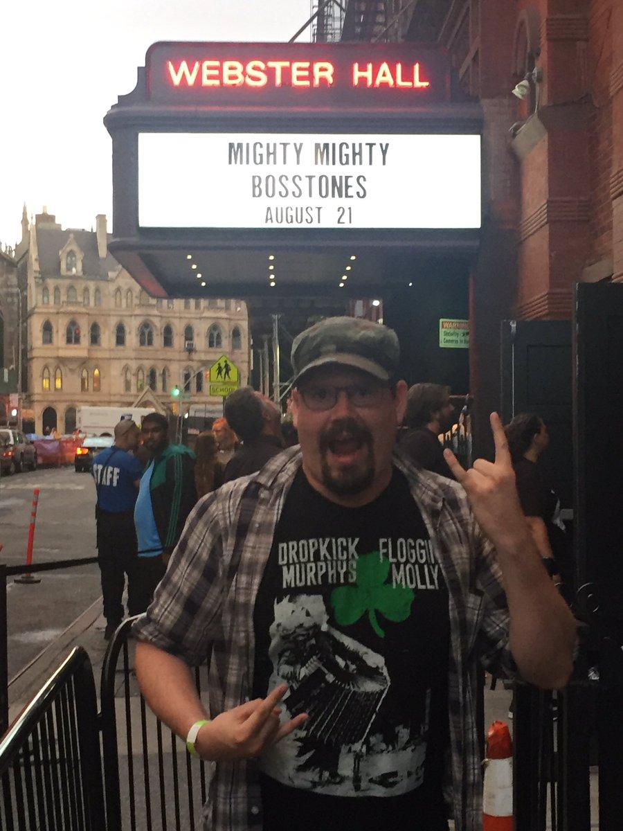 My love. Happy Birthday! #WebsterHall #MightyMightyBosstones<br>http://pic.twitter.com/bIy3Ukf7t8 – à Webster Hall
