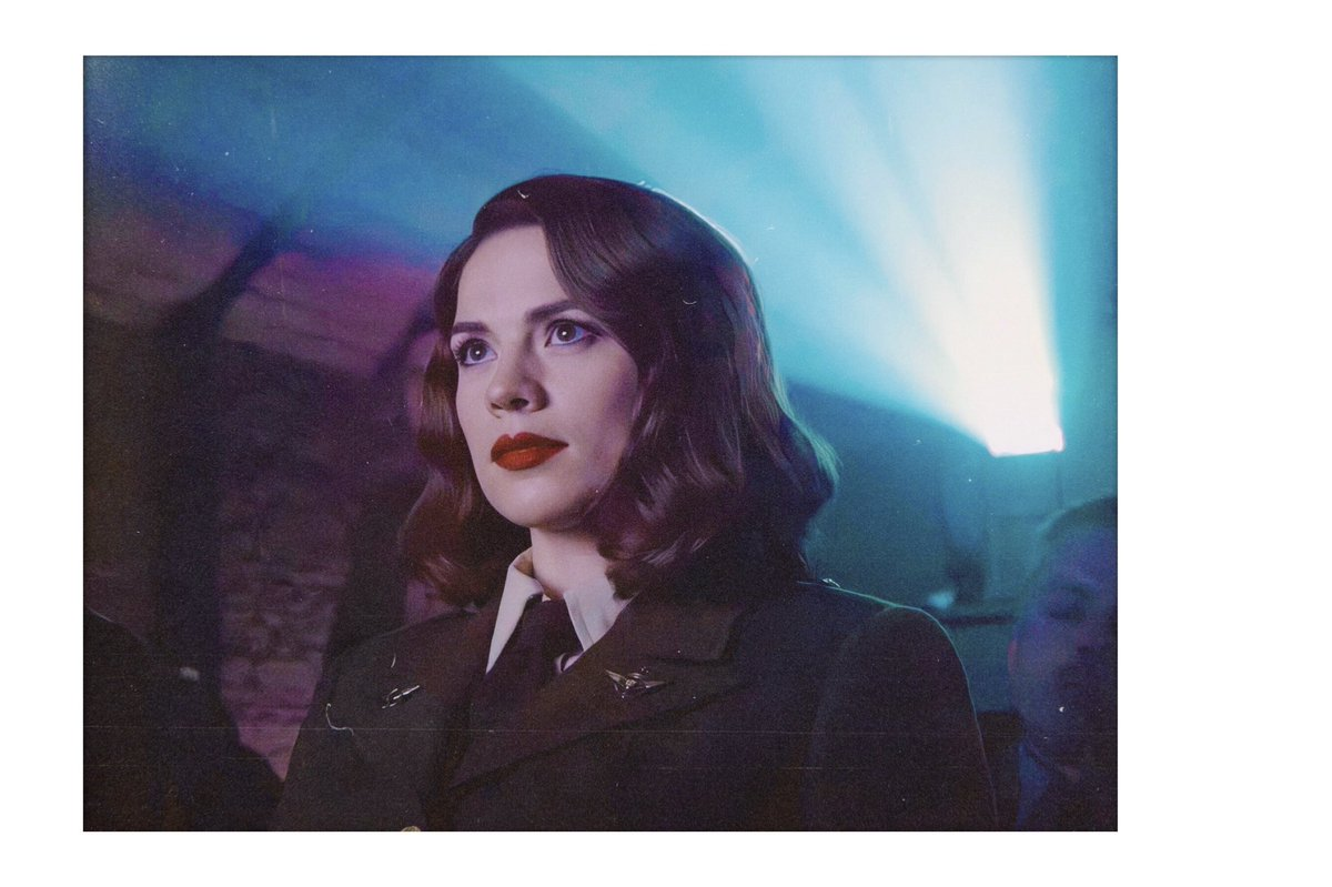 Hayley Atwell / Peggy Carter <br>http://pic.twitter.com/mBjfy6fUe4