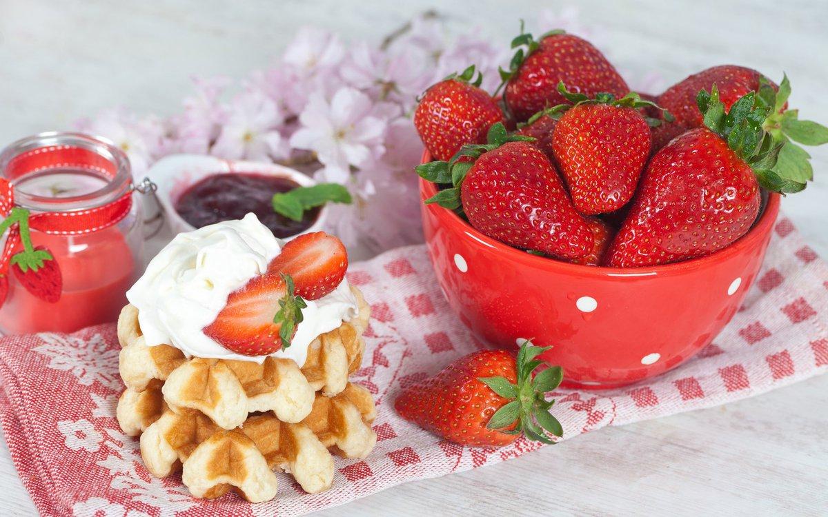 Доброе утро картинки с фруктами и цветами