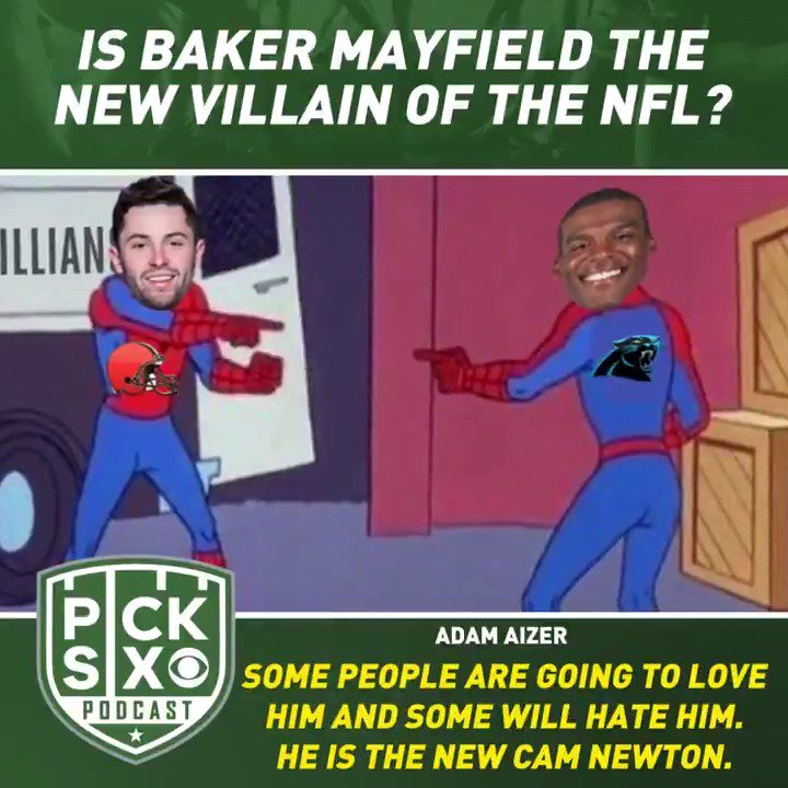 Is Baker Mayfield the new villain of the NFL? The new Cam Newton? @AdamAizer joins @WillBrinson and @seanjwagner to discuss the latest comments out of Cleveland regarding Giants rookie Daniel Jones. #DawgPound | #P6Podcast