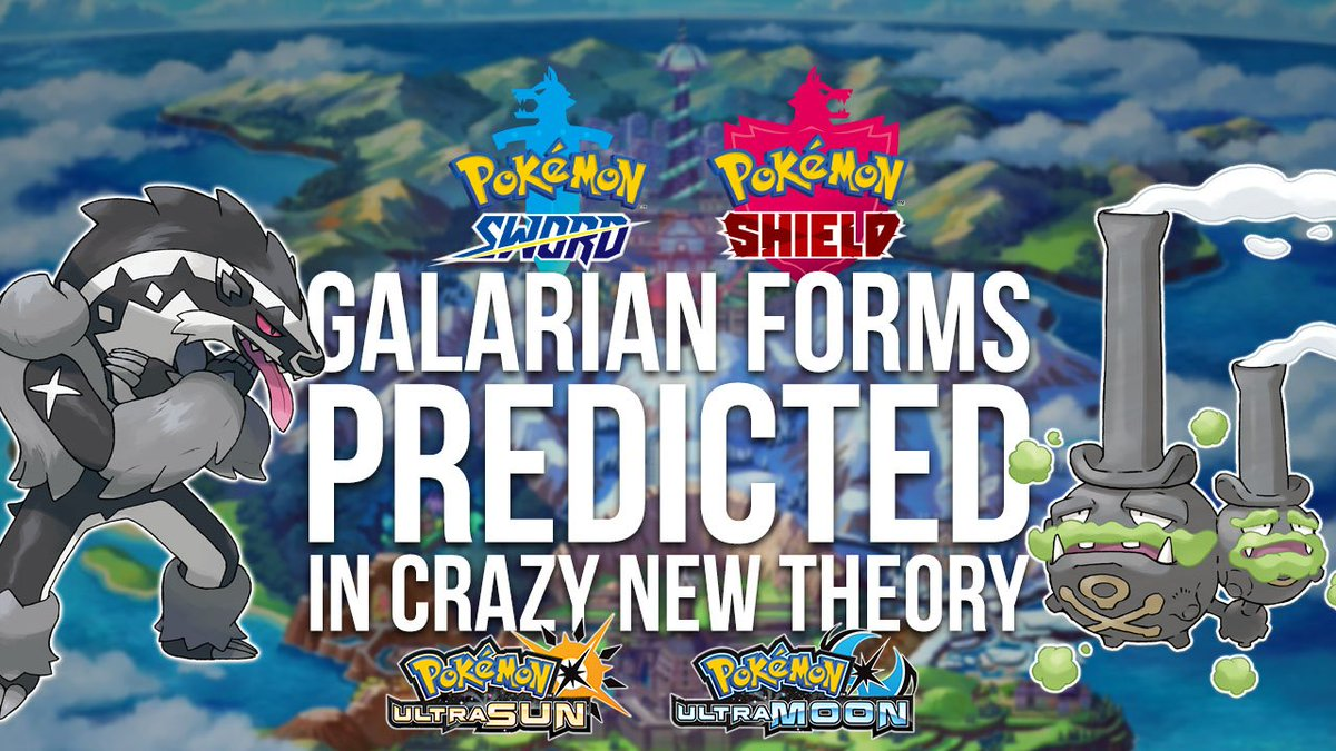 Hope youre sitting down cuz this guest author may have CRACKED THE CODE & figured out which Pokémon are most likely to get Galarian Forms in #PokemonSwordShield. All the datas here & we invite YOU to draw your own conclusions. RT this unique new theory! pokejungle.net/2019/08/21/wer…
