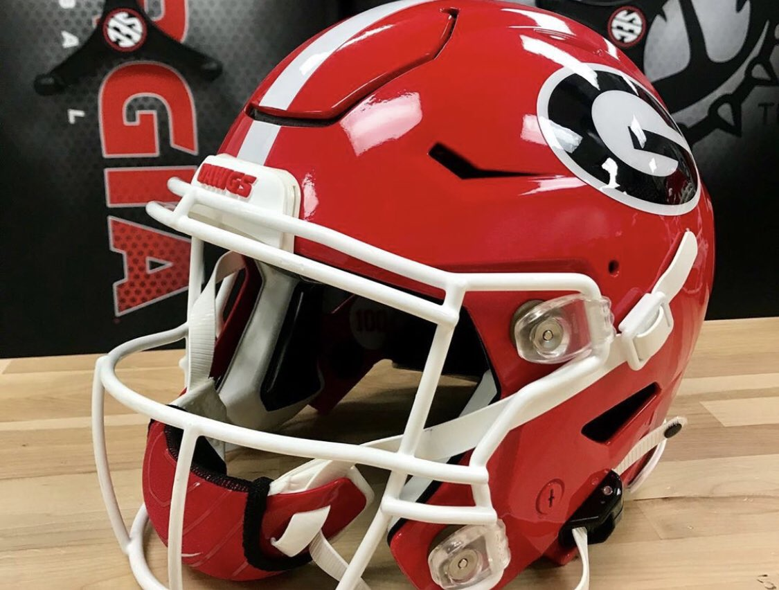 Photos: Georgia Football Adds New Element To Its Helmets