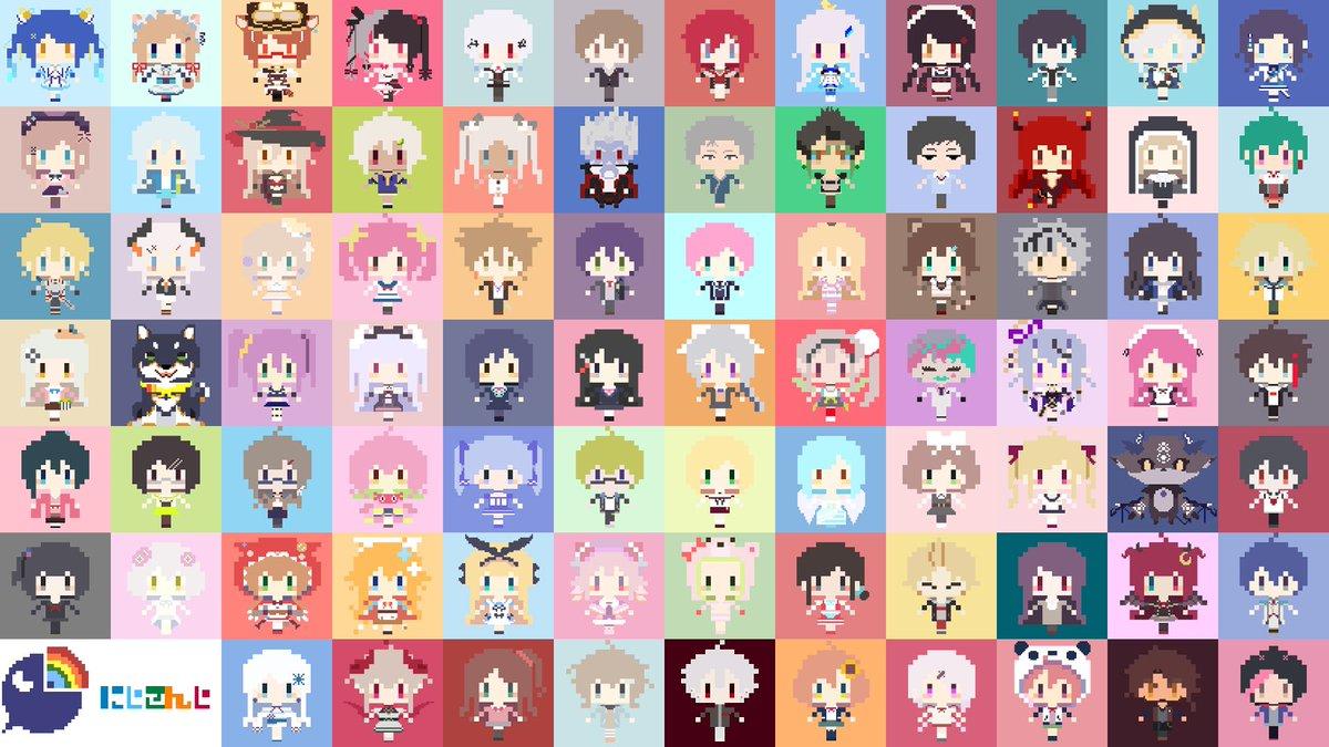 Misaka On Twitter にじさんじライバーさん全員集合pc用壁紙を作り