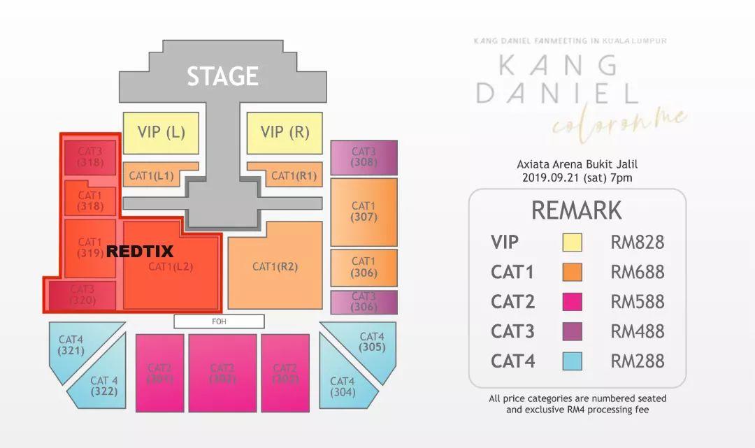 Additional info.. Q&A regarding #KangDanielColorOnMeinKL #KangDaniel