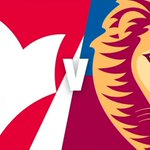 Image for the Tweet beginning: The Lions NEAFL team are
