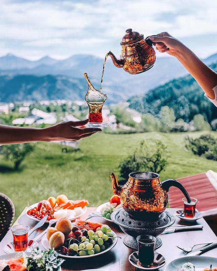 Турецкая картинка с добрым утром
