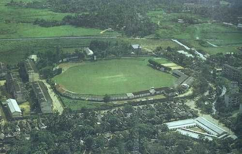 P. Sara, Colombo- Named after Paikiasothy Saravanamuttu, first President of Board- Hosted Sri Lanka's first Test- Sri Lanka won their first ever Test match- ivy-covered scoreboard & in 1948 Don Bradman brought his Australian- Neutral soil for an #AUSvPAK Test Series#SLvNZ