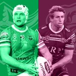 Image for the Tweet beginning: Check out the #NRL video