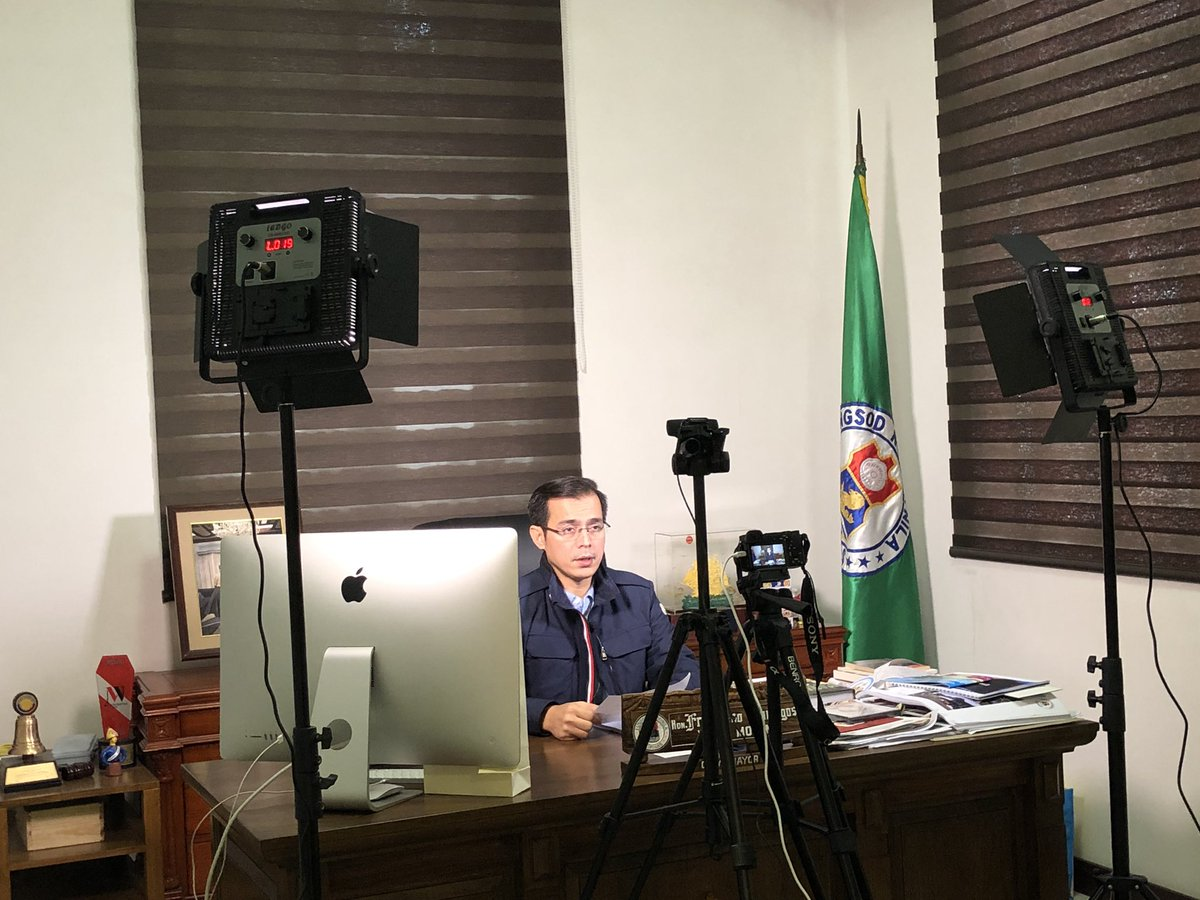 Now live on FB: Mayor @IskoMoreno orders Veterinary Inspection Board (VIB) to intensify its meat inspection in Manila. The VIB seized 2,690 kilos of botcha and hot meat since July 1, 2019. #AlertoManileno