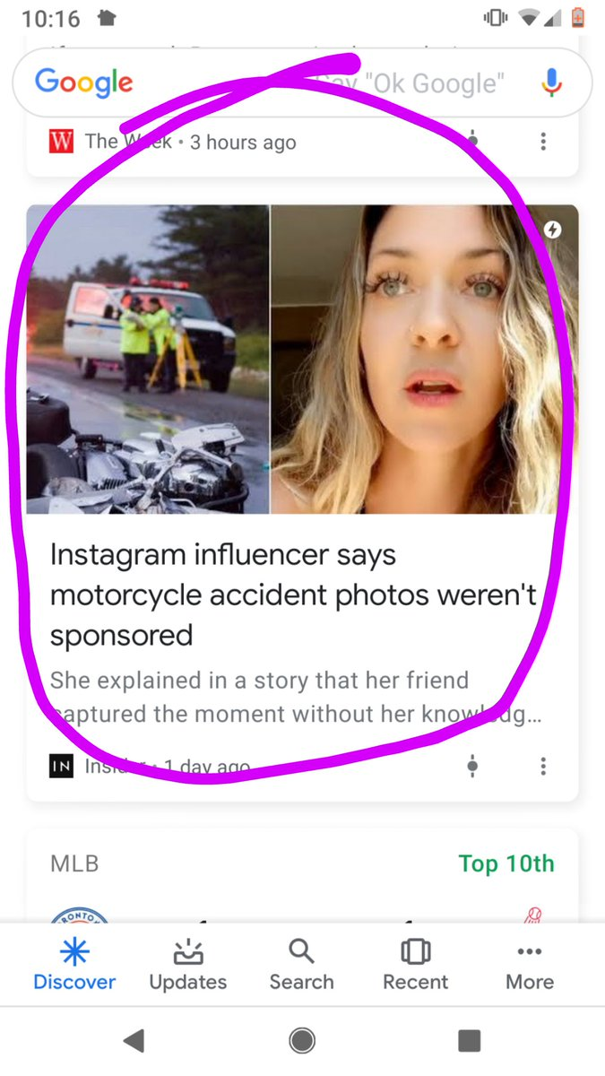 Can we all agree, with the publication of this headline, that we will never again use the term influencer earnestly? Lets get real - this influencer bubble is about to pop, and if its not a photo of a moto crash hashtagged smartwater itll be something equally as ghastly.