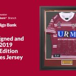 Image for the Tweet beginning: WIN a signed and framed