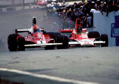 RT @gott_julie: James Hunt and Niki Lauda Brazil 1976.  #Formula1  #JamesHunt  #NikiLauda https://t.co/90rwhzKnvM