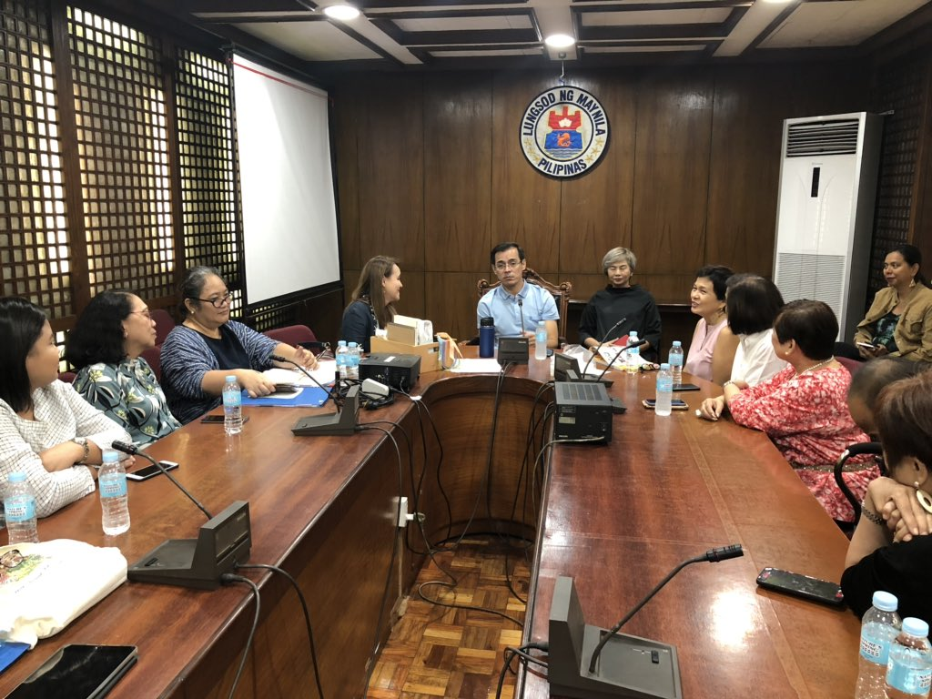 Mayor @IskoMoreno approves the extension of contract with Museo Pambata Foundation, Inc for another 25 years to operate Childrens Museum (Museo Pambata) at Roxas Blvd corner TM Kalaw in Manila.