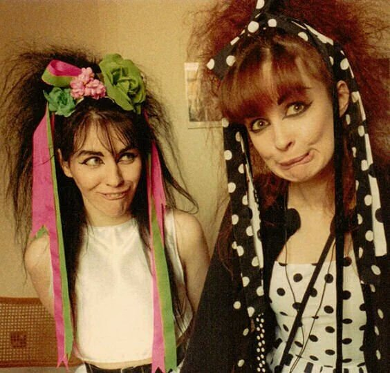 Celebrities of Scotland: Strawberry Switchblade. (1983) Pic: Peter McArthur. <br>http://pic.twitter.com/Buw5SILxeP
