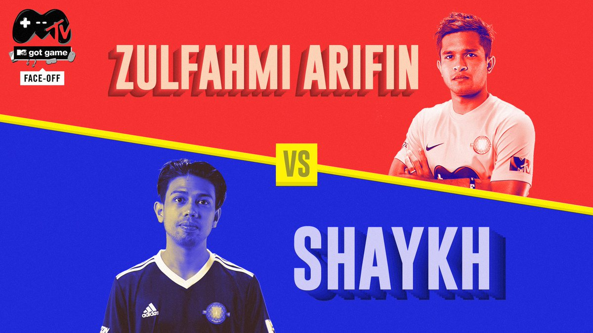 Its a high-scoring thriller as Shaykh takes on Zulfahmi Arifin, an actual football player! This is MTV Got Game Face-Off