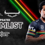 Image for the Tweet beginning: UPDATED TEAMLIST ✂️ Two Panthers