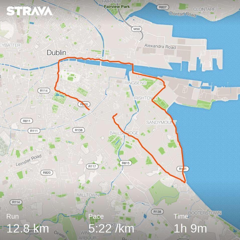 1374/1600 #Dublin 12k morning run. https://t.co/DsjWa18xkw https://t.co/j0n4Lsxfgd