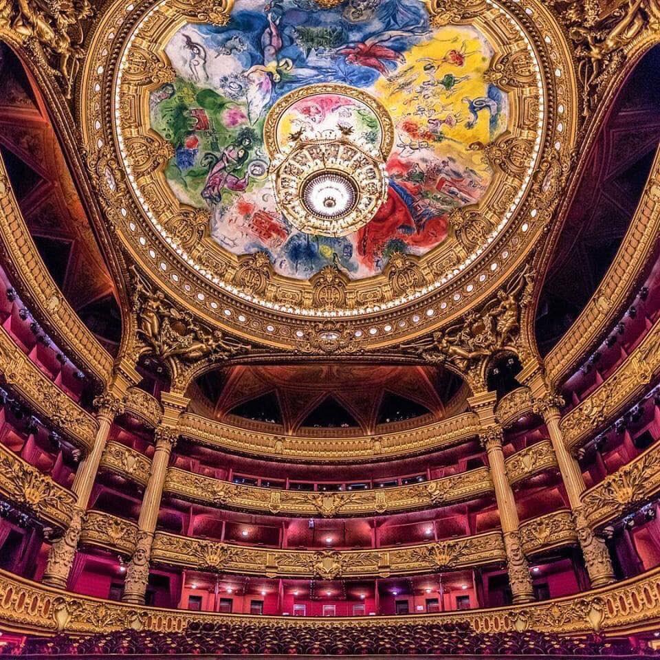 Marc #Chagall - Ceiling of Paris Opera House, c 1964 <br>http://pic.twitter.com/kH4sFPfFXU
