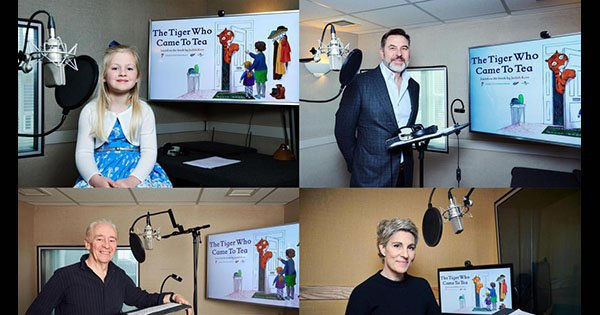 Cast Announced for Channel 4's Animated film of The Tiger Who Came to Tea #amreading #readingaddict bit.ly/2Z9SZUV