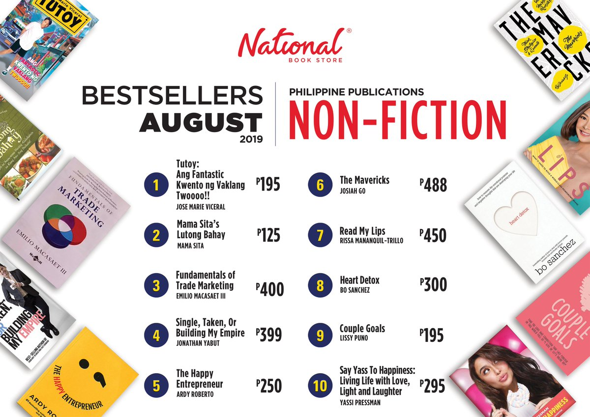 National Book Store on Twitter: