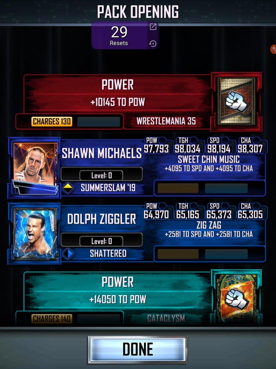 25k pack got me wrestlemania non pro #WWESuperCard<br>http://pic.twitter.com/qab8hfiOdv