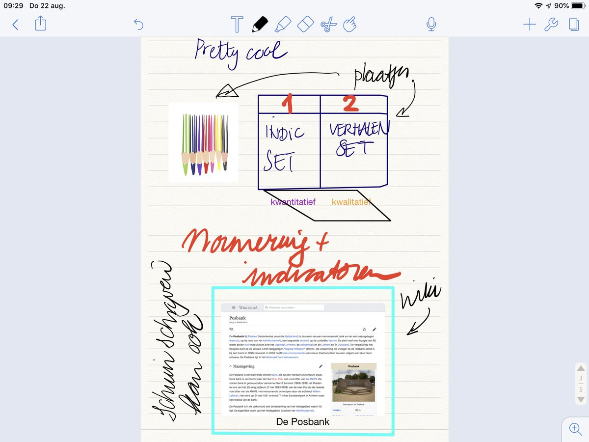 Notability voor de ipad uitproberen #prettycool #applepencilverslaafd ✏️✏️✏️